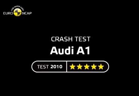 ncap тест 2010 года ауди А1