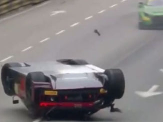 авария ауди на гонке