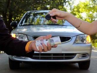 Передача ключей от нового авто