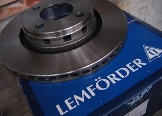 Лемфердер - ветиллируемые диски ауди80
