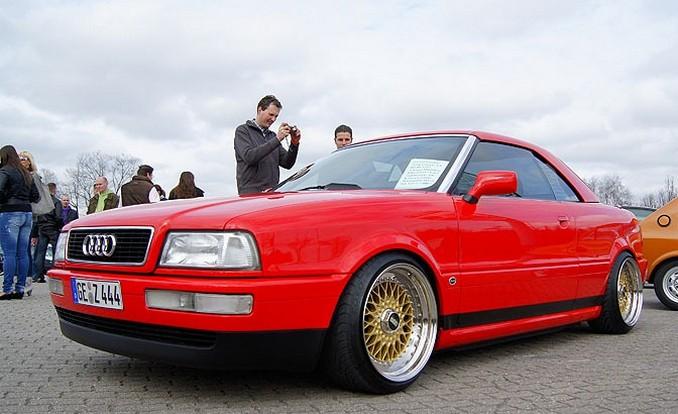 Стильные колесные диски на Ауди 80